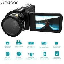 "WiFi HD 1080P 16X ZOOM 3"" Touch Screen Digital Camera DV Camcorder Recorder G4W7"