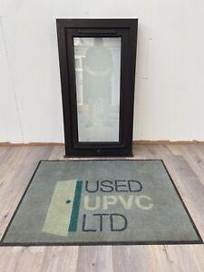 UPVC PVCU TILT TURN WINDOW-BROWN GREY-CASEMENT-EXTERNAL-EXTERIOR-DOUBLE GLAZED