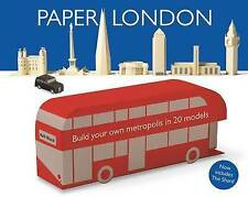 Paper London: Build Your Own Metropolis in 20 Models by Kell Black (Paperback, 2