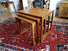 G PLAN QUADRILLE TEAK NEST OF TABLES RETRO MID CENTURY MODERN VINTAGE 70'S
