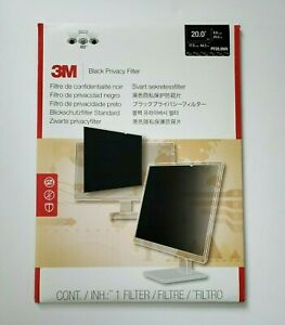 """3M Privacy Filter for 20.0"""" Widescreen Monitor (16:9) PF200W9B"""