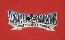 Vintage 1996 Walt Disney World Reunion 25TH Anniversary Polo Shirt XL Mickey