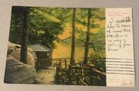 NOOK IN CENTRAL PARK New York City NY early undivided postcard c.1907