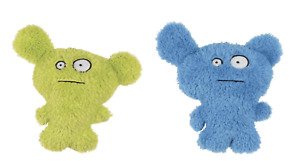 Grriggles - Dog Squeaky Plush Toy - Furzies - Blue or Green
