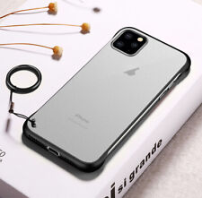 Ultra thin Frameless Matte Case For iPhone 11 Pro XS Max XR 8 7 Clear Back Cover