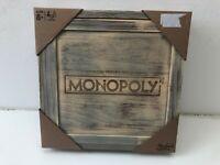 Monopoly Holz Sonderausgabe des beliebten Spieleklassikers Brett Gesellschafts