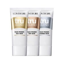 Covergirl TruBlend Face Primer ~ Choose from Dry, Oily or Combo Skin