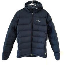 Mens Kathmandu Black Green Epic Hooded 550 Down Jacket S