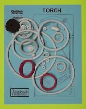 1980 Gottlieb Torch pinball rubber ring kit