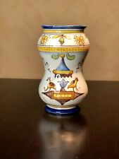 Cantagalli Italian Pottery Vase Marked No Reserve