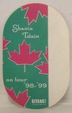 Shania Twain - Original Concert Tour Cloth Backstage Pass