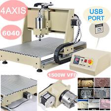 USB 1.5KW 4 Assi CNC 6040 Router 3D Engraver Fresatrice Macchina per Incisioni
