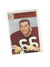 1966 Philadelphia GENE HICKERSON RC #45 Cleveland Browns