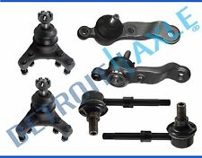 6pc Front Upper Lower Ball Joint Sway Bar Link Kit for Toyota Tacoma 5-Lug 2WD