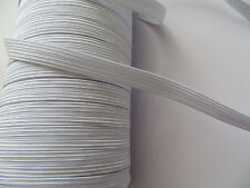 Strong White Elastic 12mm Width Stretch Belt Sew Waistband Cuff Making Toys Pant