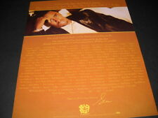 Sean Puffy Combs I closed my eyes and had a dream. 1998 Promo Poster Ad mint