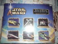 Star Wars Badge & Magnet Mould & Paint Set