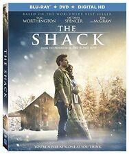 The Shack Blu-ray + DVD + Digital HD  Brand New FAST Free Shipping