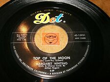MARGARET WHITING - TOP OF THE MOON - I'M ALONE   / LISTEN - VOCAL JAZZ POPCORN