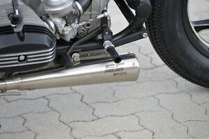 Orig. WalzWerk SCHIZZO® Auspuffanlage, silver, BMW R80/R100