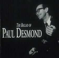 CD Paul Desmond - The Ballad Of