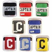 CAPTAINS ARMBAND - PRECISION CAPTAIN BAND ADULTS + KIDS - FOOTBALL HOCKEY