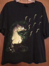 Vtg Rare 90s Nirvana Come As You Are 93 Tour Shirt Seahorse Soundgarden Grunge