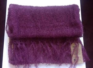 Superfine Mohair Scarf...   Various Colours...   BNWT