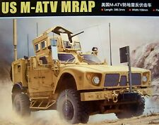 SEALED Trumpeter #00930 Big 1/16 Oshkosh M-ATV MRAP Armored Vehicle w/ P/E Brass