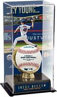 Jacob deGrom NY Mets 2019 NL Cy Young Award Gold Glove Display Case with Image