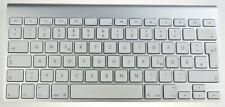 Apple Kabellose Bluetooth Deutsch Tastatur - Silber (MC184D/A) Top Gerät geprüft