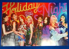 SNSD Girls' Generation - Holiday Night All Night Ver.  (Official Unfold Poster)
