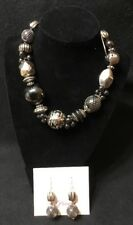 PREMIER DESIGNS - ECLECTIC - NECKLACE AND EARRINGS SET $49 - NEW