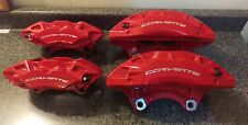 C7 CORVETTE.   Z51 POWDER COATED BRAKE CALIPERS set of 4,   2014,15,16,17