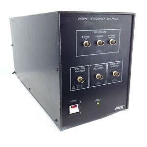 Lab-Volt 9407-00 Virtual Test Equipment Interface Oscilloscope Spectrum Analyzer