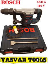 BOSCH GSH 5E hammer breaker GSH 5-E/0 611 318 741/demolition or concrete breaker