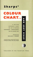 sharps colour chart & grey scale : for use in television ! 1956