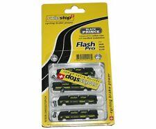 Kit 4 zapatas Swissstop Flash negro carbono