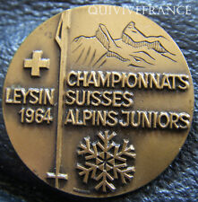 SK1271 - INSIGNE SKI - CHAMPIONNATS SUISSES ALPINS JUNIORS 1964 LEYSIN