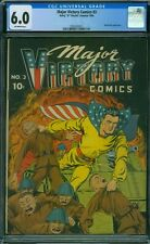 Major Victory Comics 3 CGC 6.0 - OW Pages