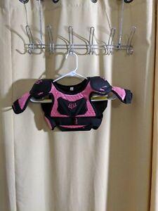 Fox Racing Peewee Titan Roost Deflector Black/Pink Size Medium/Large Age 6-9