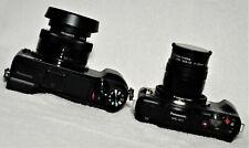 MINT Panasonic Lumix GX85 & GF3 Mirrorless Digital Cameras & 2 lenses, Low Count