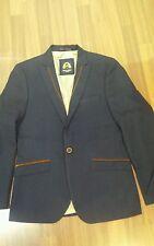 Mens designer Marc Darcy Lewis smart blazer colour Blue size 42R sale cheap