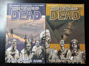 ⭐️ The WALKING DEAD #3-4 Trade Paper Backs (TPB) (IMAGE Comics) FN Books