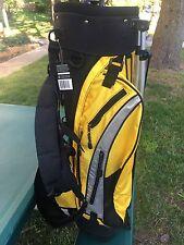 USKG Champion Kids Golf Bag, Yellow/Black