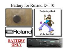 Battery for Roland D-110 Sound Module - Internal Memory Replacement Battery