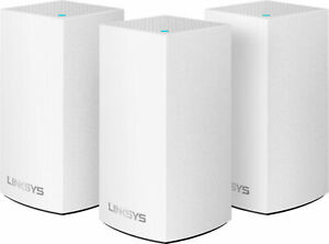 NEW Linksys Velop Intelligent Mesh WiFi System 3-Pack White AC3600 Dual Band
