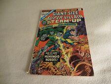 Marvel Comics Giant Size Super Villain Team Up #2  .50 cent cover price.