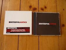 Interpol - Antics ENHANCED CD with SLIP CASE !  / Labels Records CD 2004 