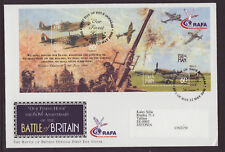 Isle of Man 2000 FDC - 60th Anniversary of the Battle of Britain - with m/sheet